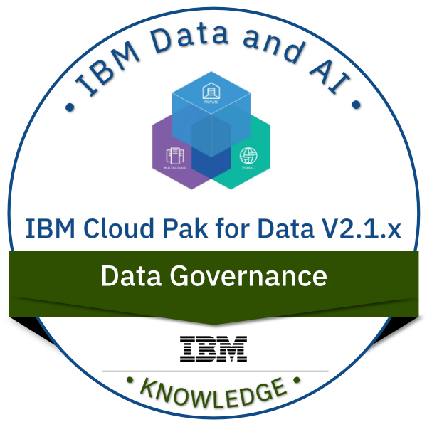 IBM Cloud Pak for Data V2.1.x Data Governance