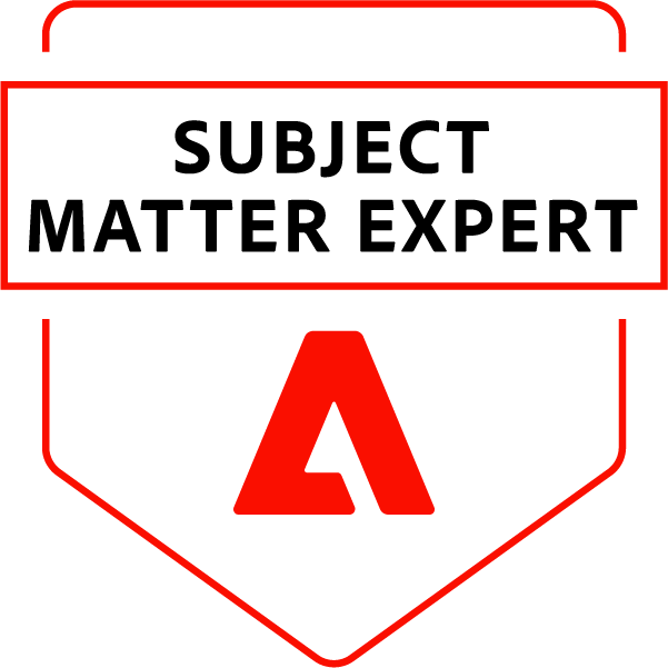 Adobe Subject Matter Expert – Adobe Experience Manager Business Practitioner