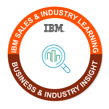 Business and Industry Insight was issued by IBM to Theodore Faison.