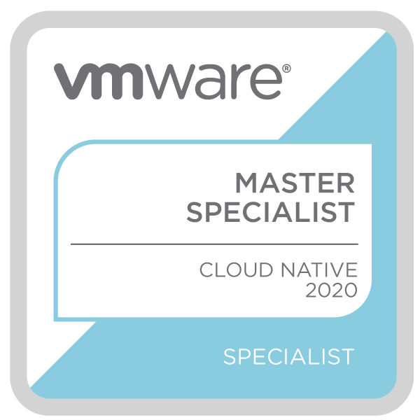 VMware Certified Master Specialist - Cloud Native 2020