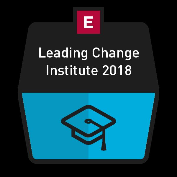 Leading Change Institute 2018 Image