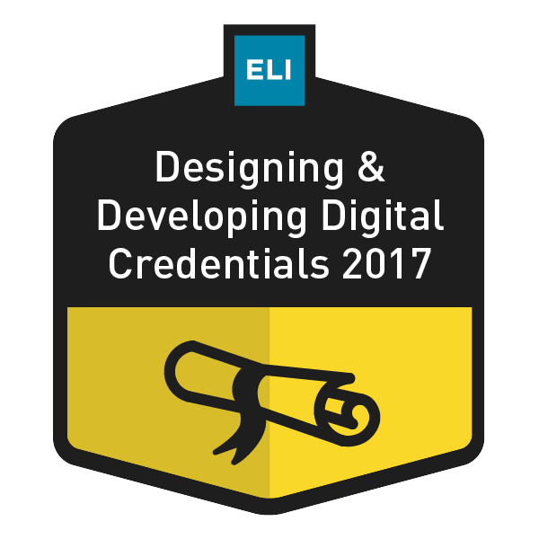 Designing and Developing Digital Credentials 2017