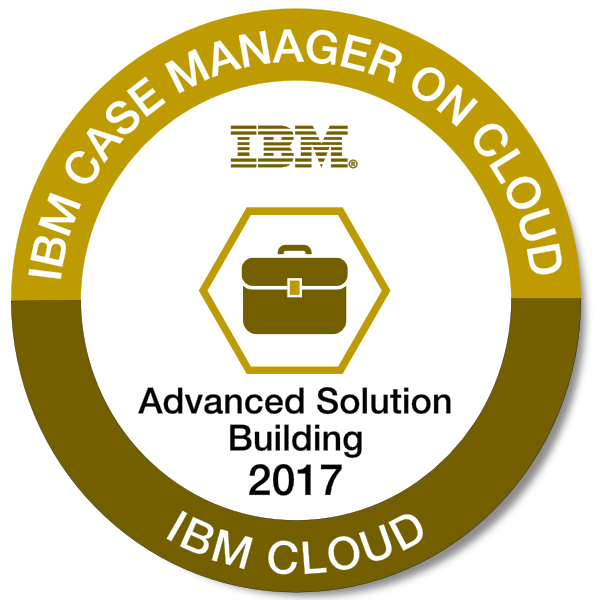 IBM Case Manager on Cloud - Advanced Solution Building - 2017