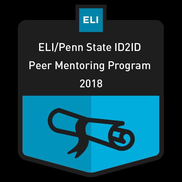 ID2ID Peer Mentoring Program 2018