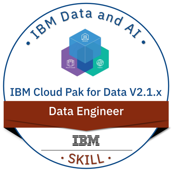 IBM Cloud Pak for Data V2.1.x Data Engineer