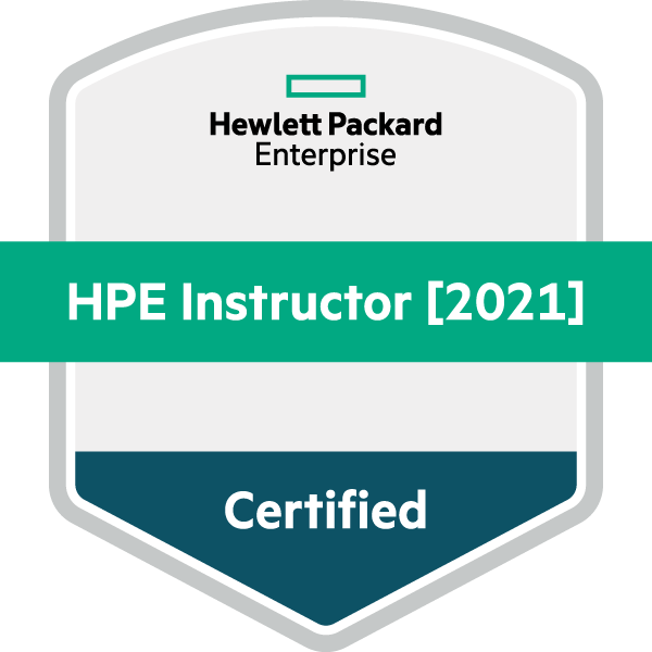 HPE Certified Instructor [2021]