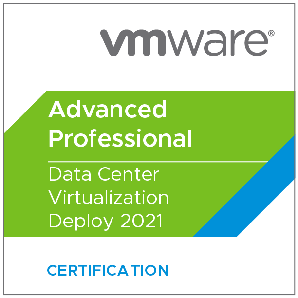 VMware Certified Advanced Professional - Data Center Virtualization Deploy 2021