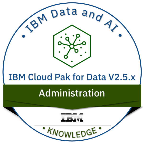 IBM Cloud Pak for Data V2.5.x Administration