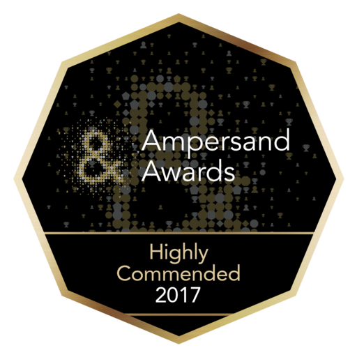 Highly Commended Annabel Meggeson: Ampersand Award Highly Commended 2017