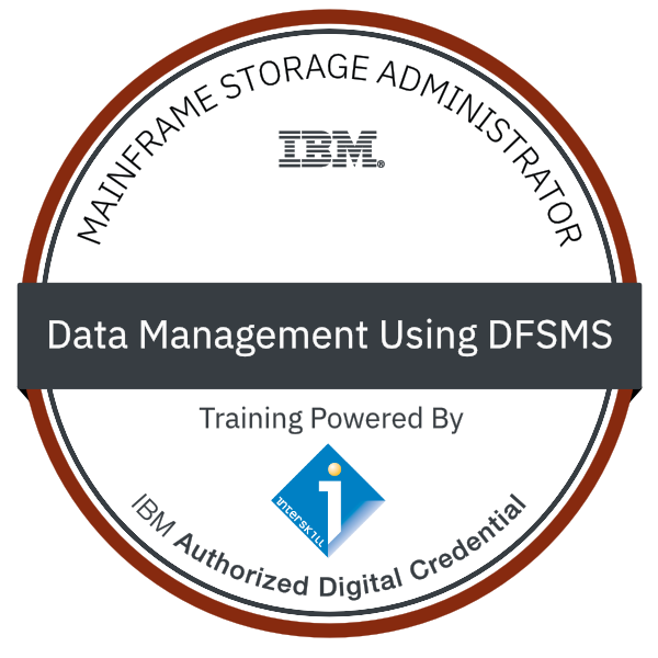 Interskill - Mainframe Storage Administrator - Data Management Using DFSMS