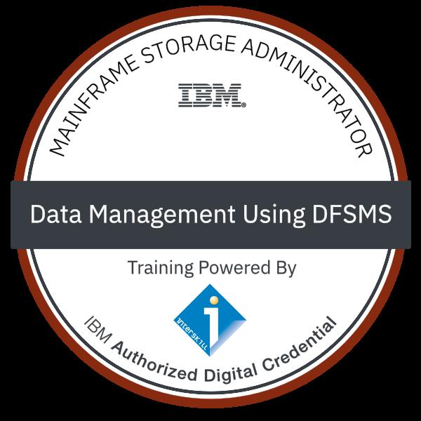 Interskill - Mainframe Storage Administrator - Data Management Using DFSMS
