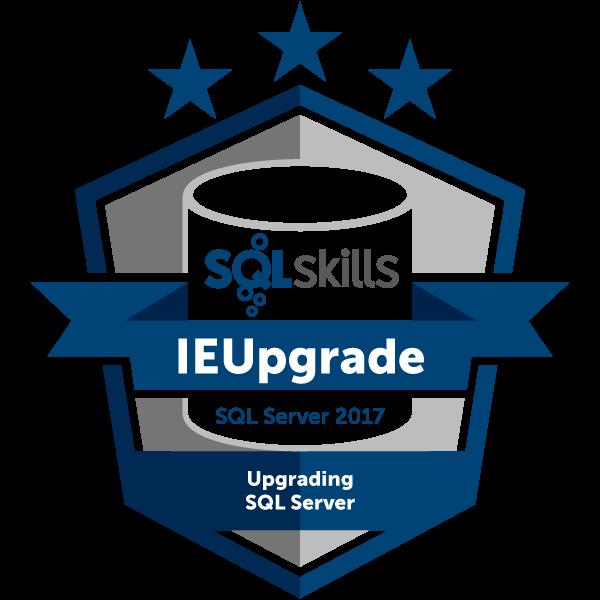 SQLskills IEUpgrade - SQL Server 2017