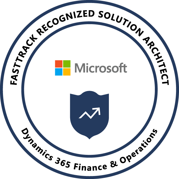 Dynamics 365 FastTrack Recognized Solution Architect - Finance and Operations