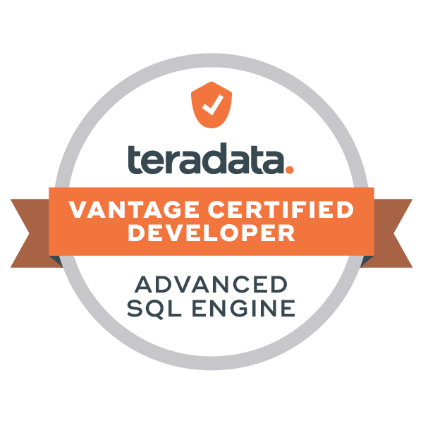 Vantage Certified Developer