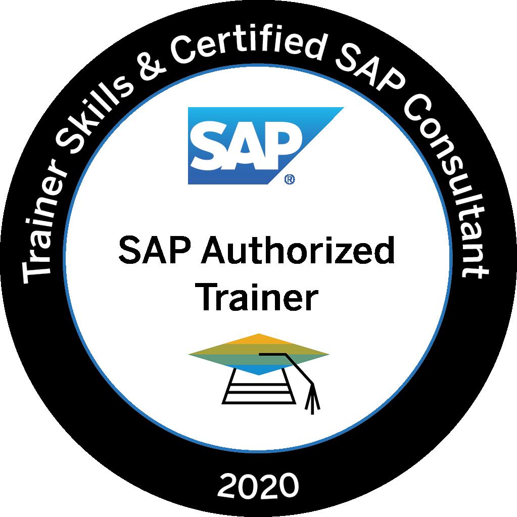 Trainer Skills & Certified SAP Consultant 2020 - SAP Authorized Trainer