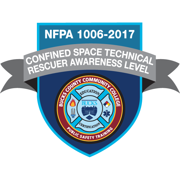 Confined Space Technical Rescuer Awareness Level (1006-2017)