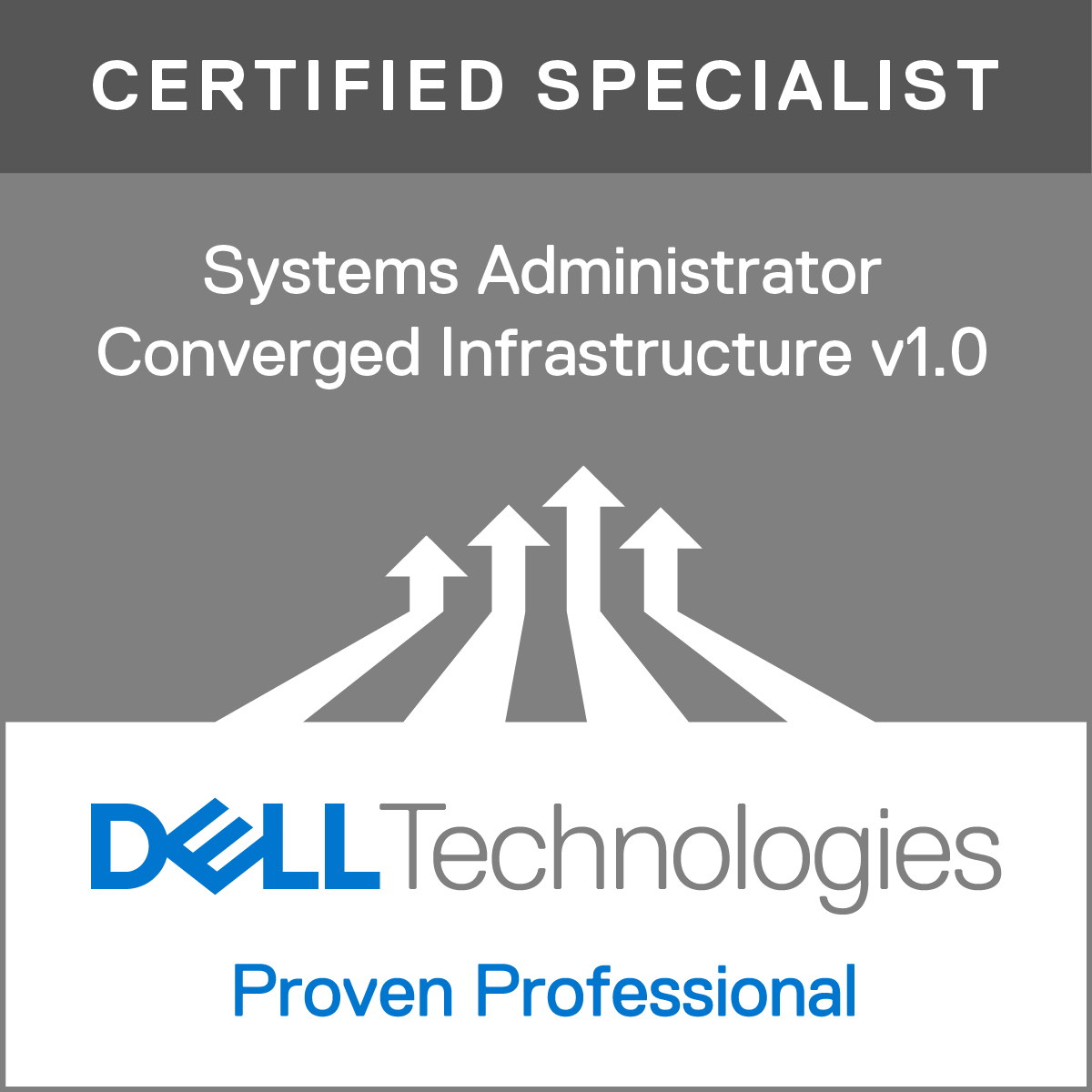 Specialist - Systems Administrator, Converged Infrastructure Version 1.0