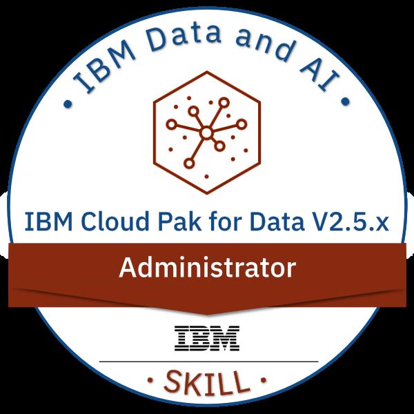 IBM Cloud Pak for Data V2.5.x Administrator