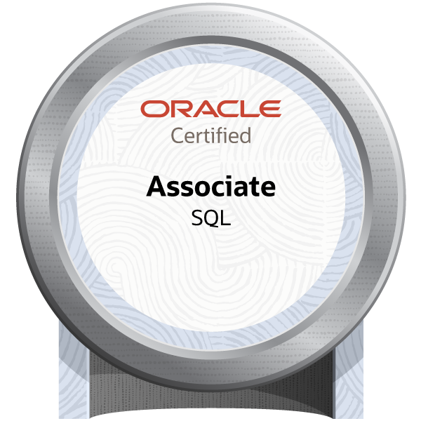 Oracle Database SQL Certified Associate