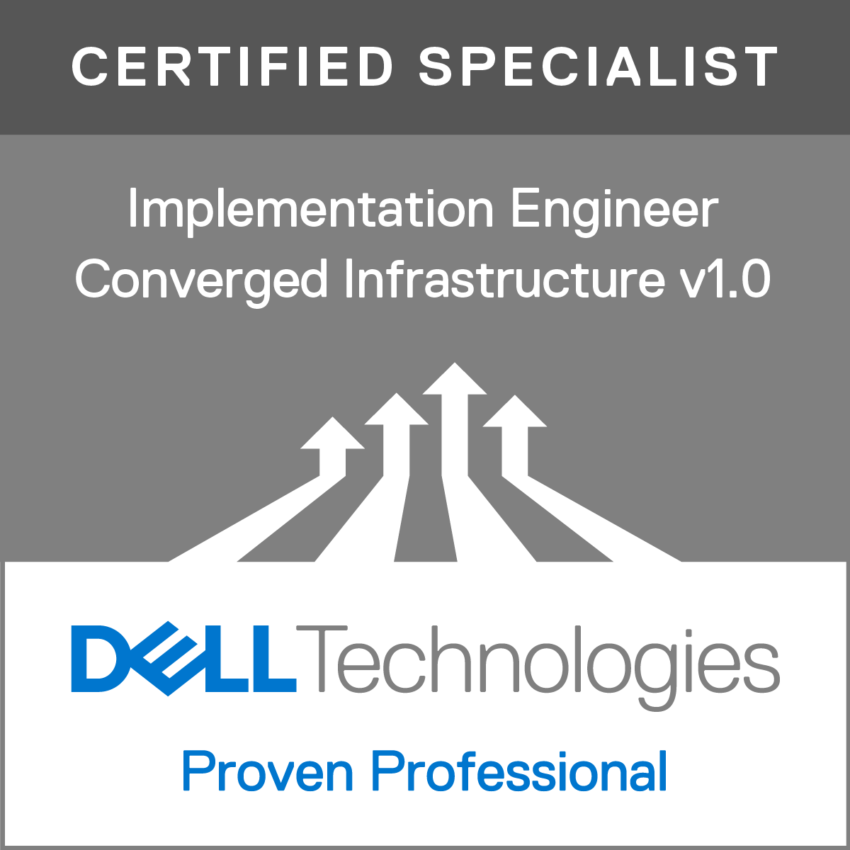 Specialist - Implementation Engineer, Converged Infrastructure Version 1.0
