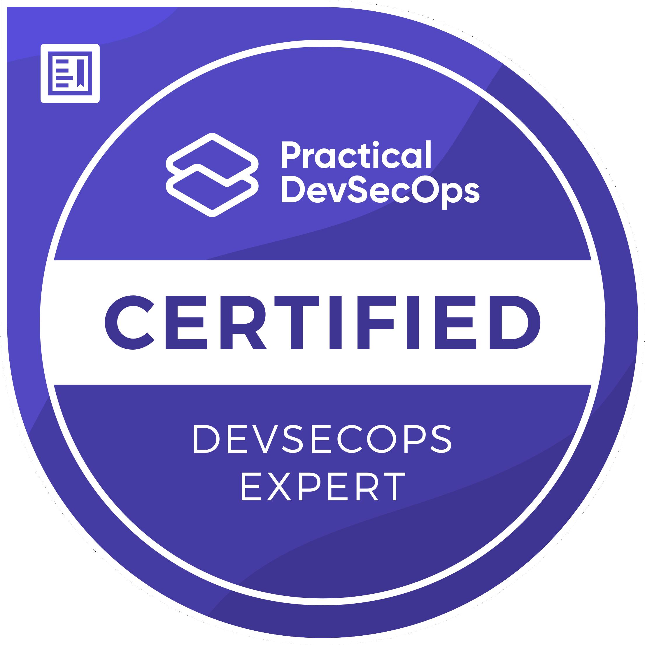 Certified DevSecOps Expert (CDE)