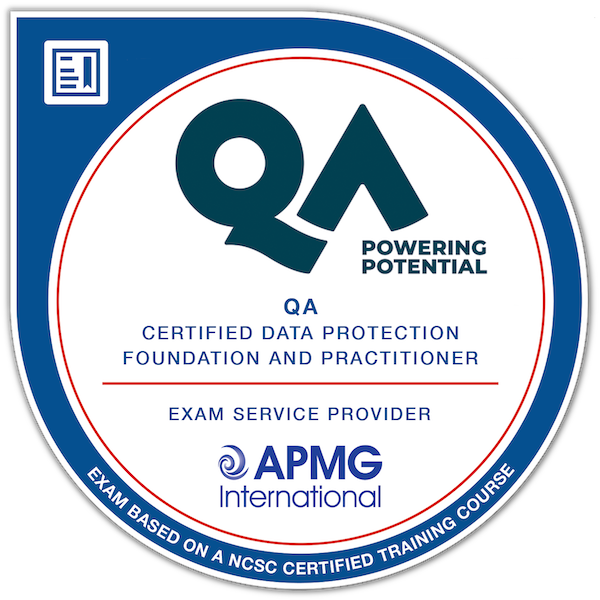 QA Certified Data Protection Foundation & Practitioner
