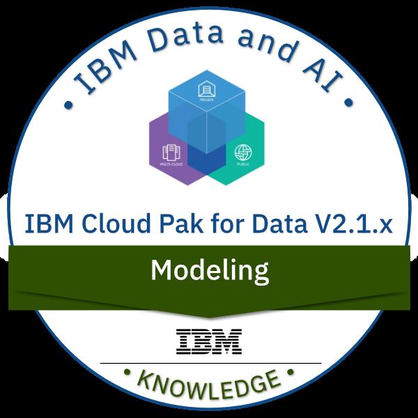 IBM Cloud Pak for Data V2.1.x Modeling