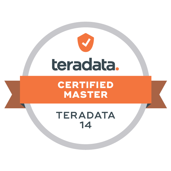 Teradata 14 Certified Master