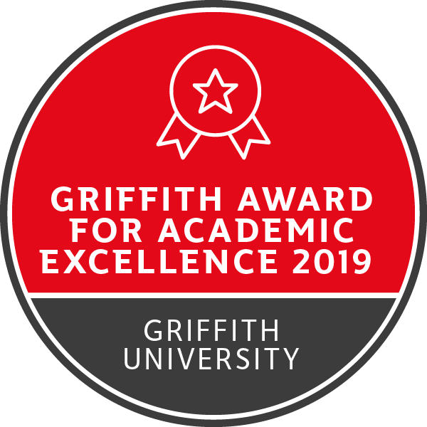Griffith Award for Academic Excellence - 2019