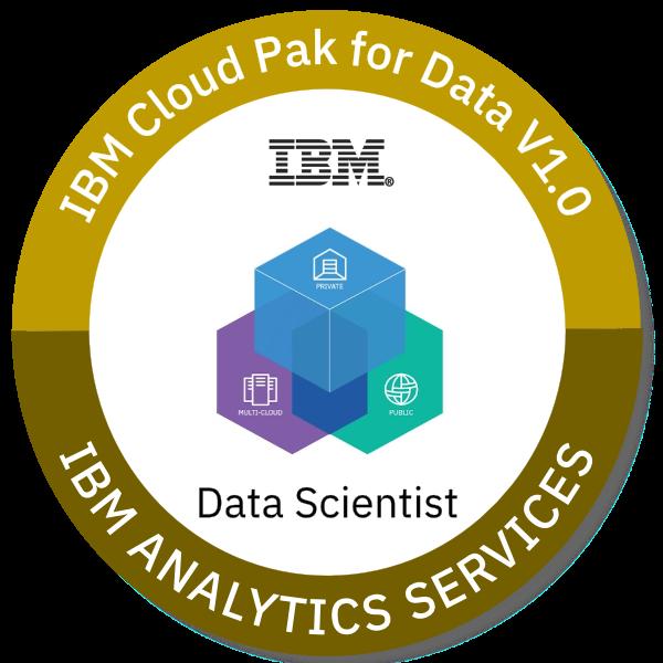 IBM Cloud Pak for Data V1.0 Data Scientist