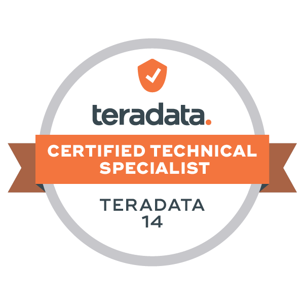 Teradata 14 Certified Technical Specialist