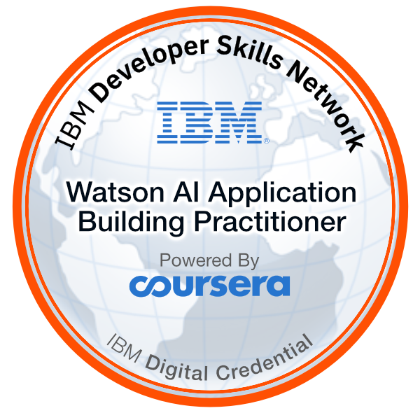 Watson AI Application Building Practitioner