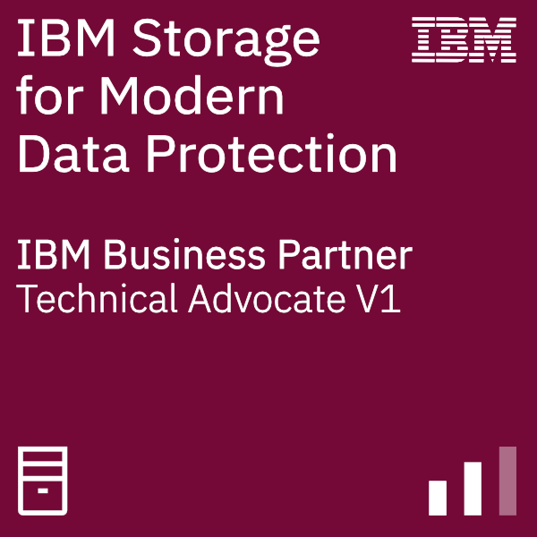 IBM Systems Business Partner Storage for Modern Data Protection - Technical Advocate V1