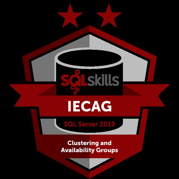 SQLskills IECAG - SQL Server 2019