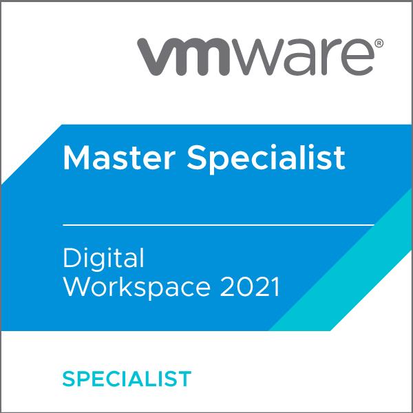 VMware Certified Master Specialist - Digital Workspace 2021