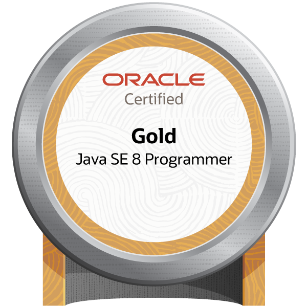 Oracle Certified Java Programmer, Gold SE 8 (Oracle Certified Professional, Java SE 8 Programmer) - JPN