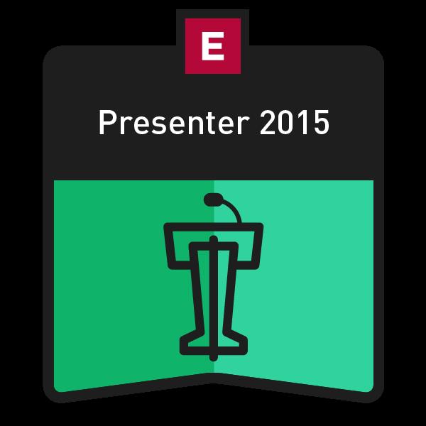 EDUCAUSE 2015 Annual Conference Presenter