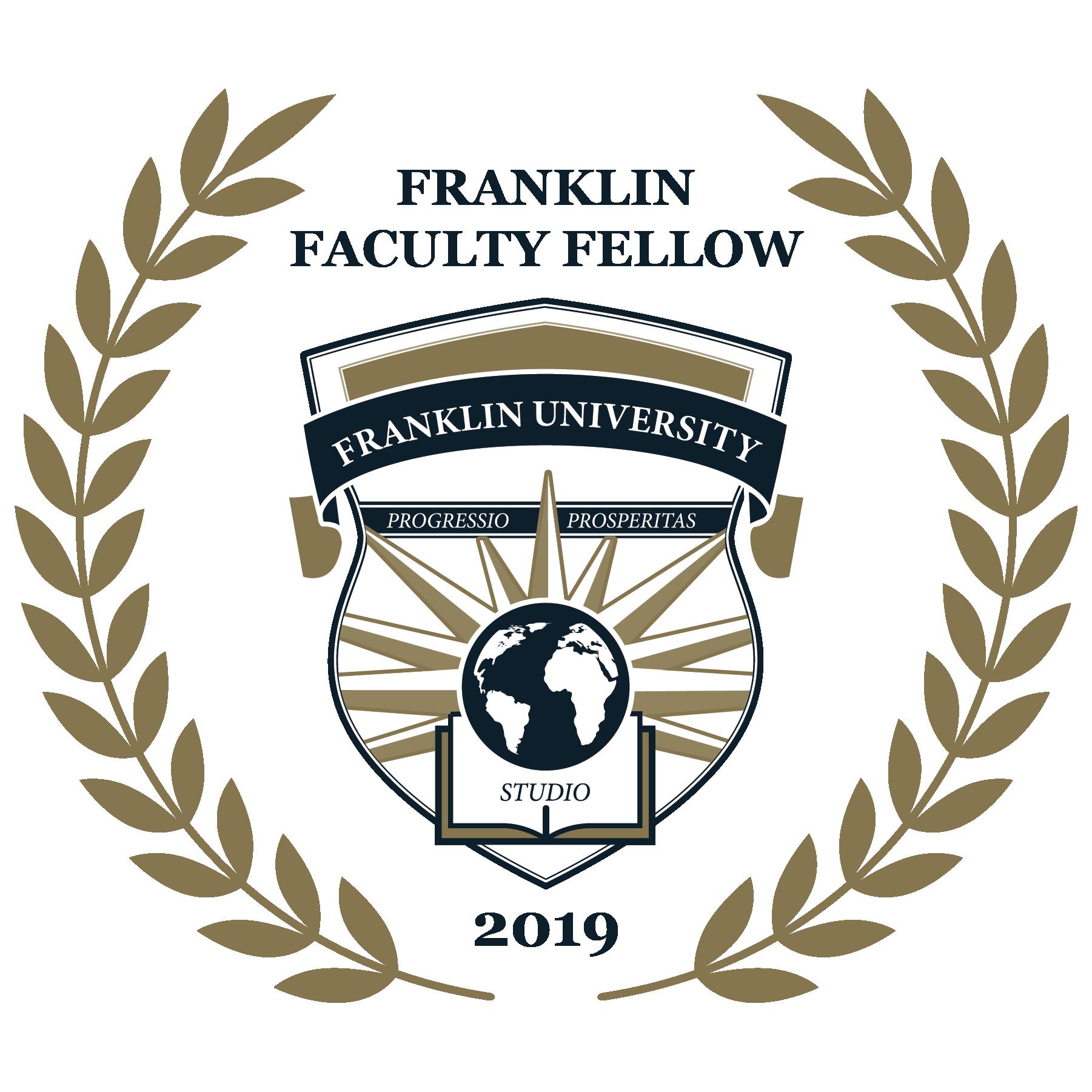 2019 Franklin Faculty Fellow
