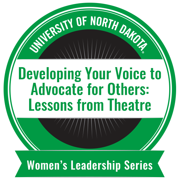 Developing Your Voice to Advocate for Others: Lessons from Theatre