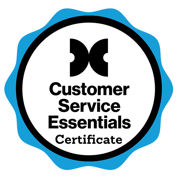Customer Service Essentials Certificate