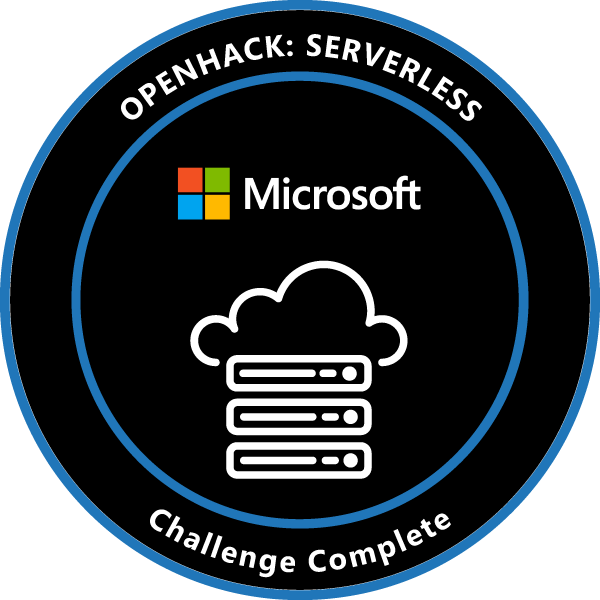 OpenHack: Serverless