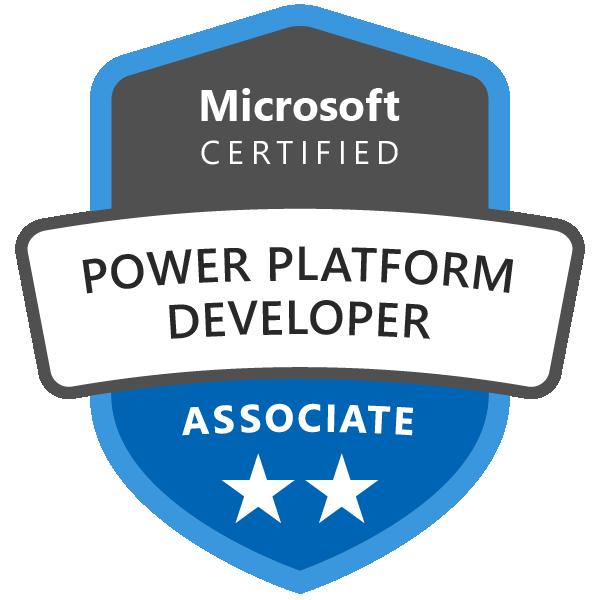 Microsoft Certified: Power Platform Developer Associate