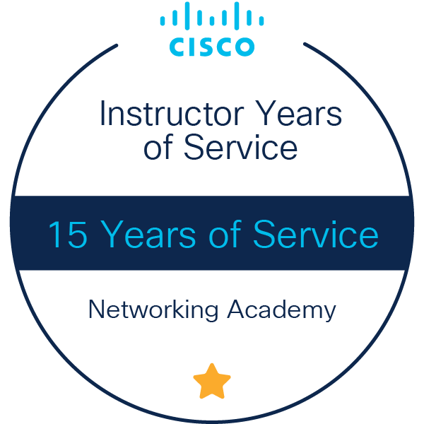 Instructor 15 Years of Service