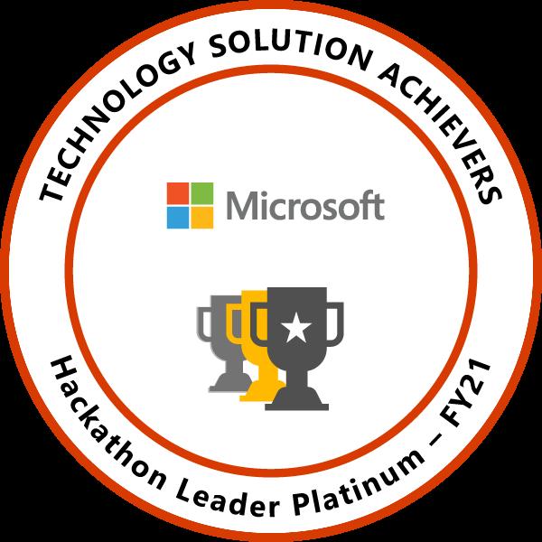 Hackathon Leader Platinum