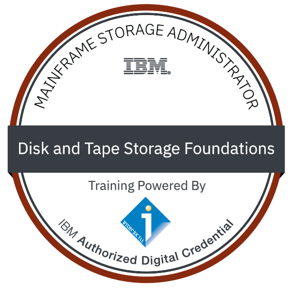 Interskill - Mainframe Storage Administrator - Disk and Tape Storage Foundations