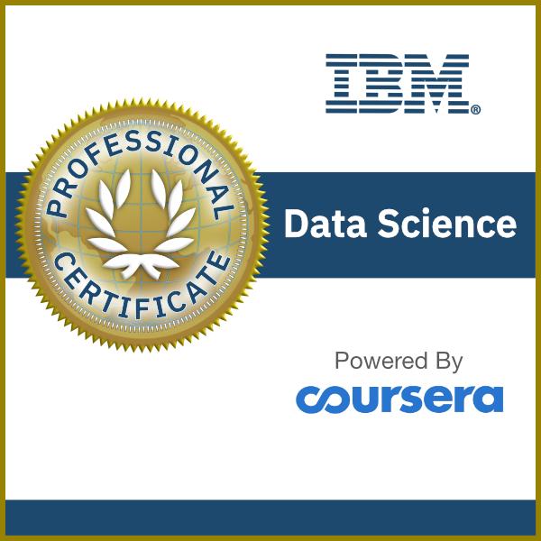 Data Science Professional Certificate