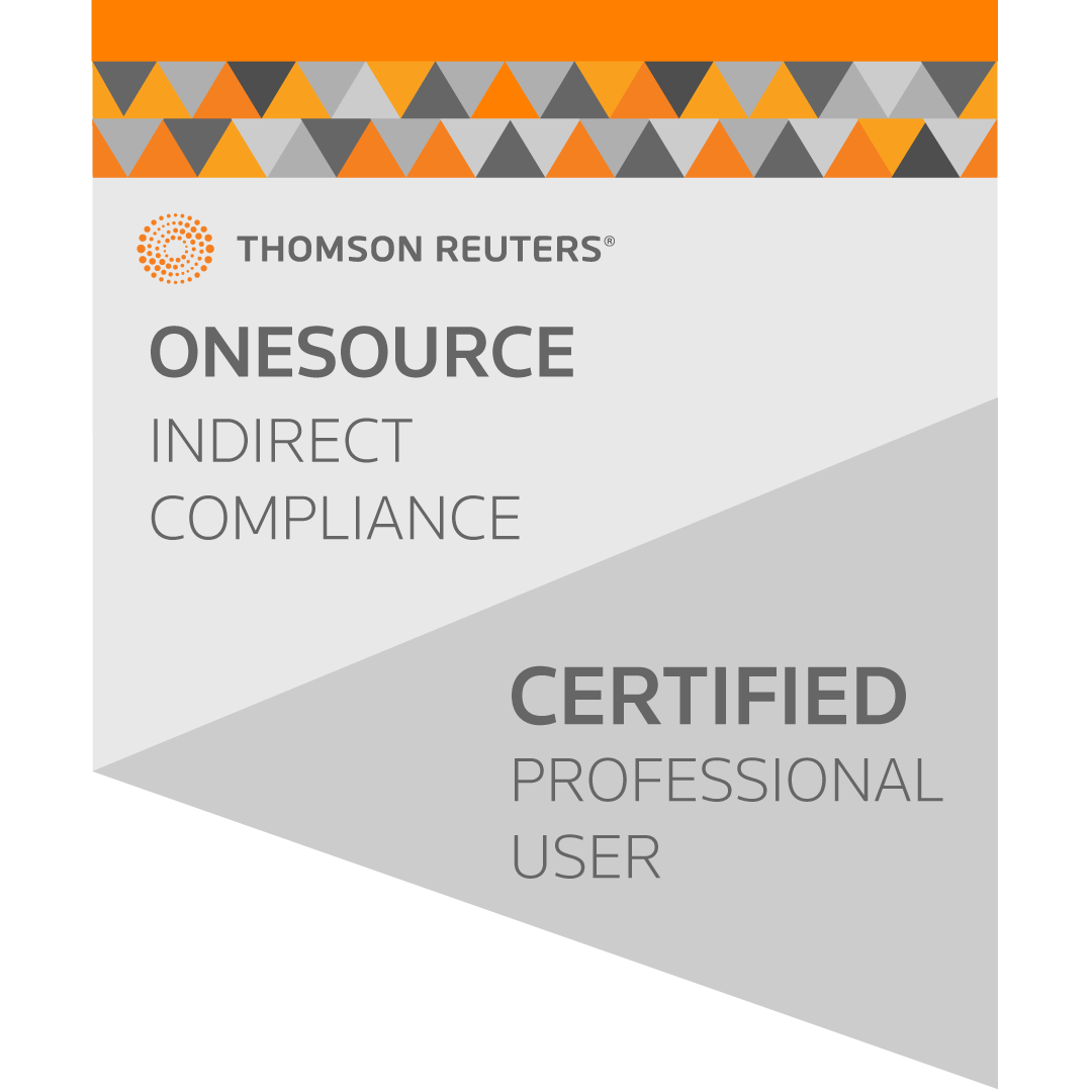 ONESOURCE Indirect Compliance Professional User