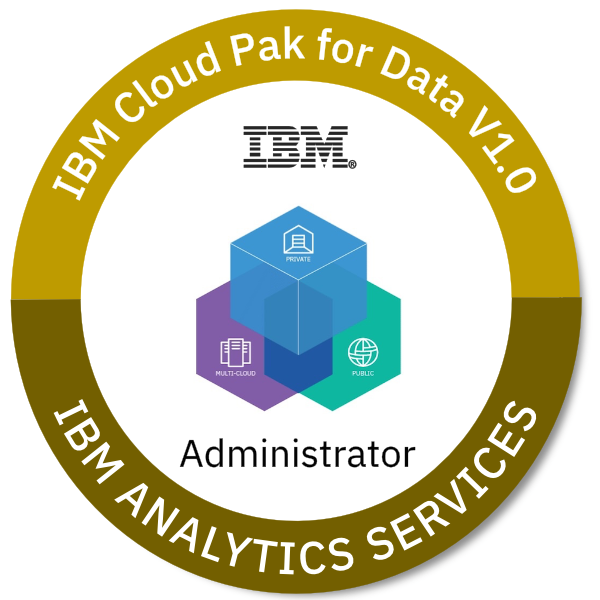 IBM Cloud Pak for Data V1.0 Administrator