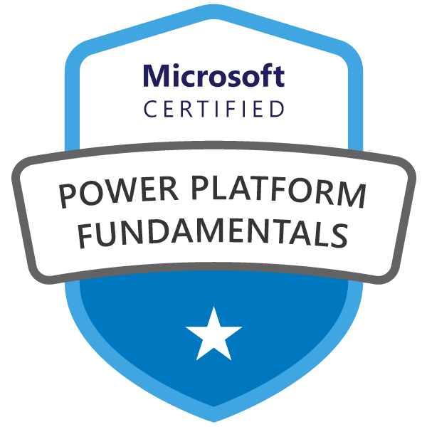 Microsoft Certified: Power Platform Fundamentals