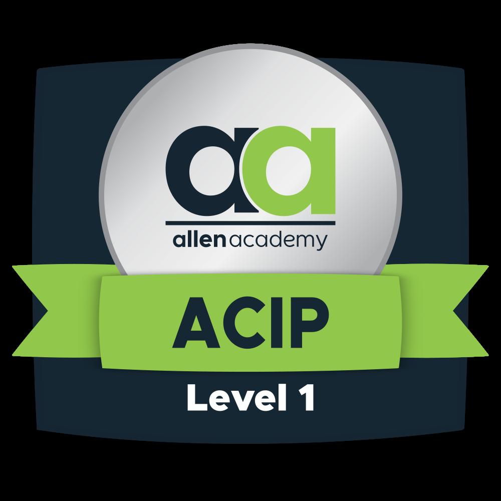 Allen Certified Instructional Professional - Level 1